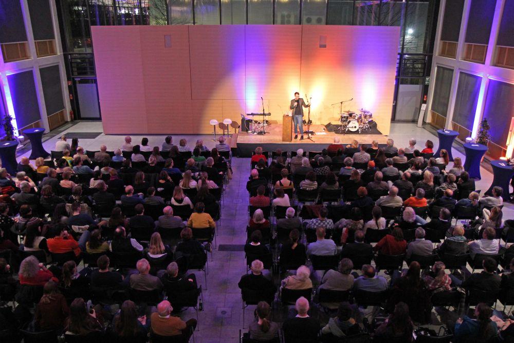 Bildergalerie Poetry Slam Gießen  Volksbank Mittelhessen eG