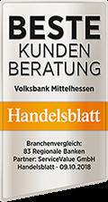 Handelsblatt - Beste Kundenberatung
