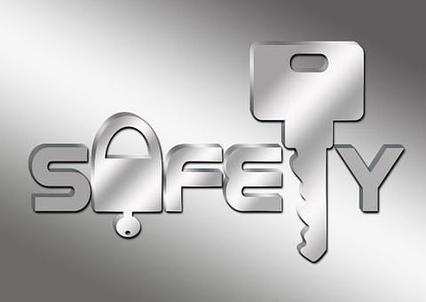 Sicherheit, Schlüssel, Schloss
