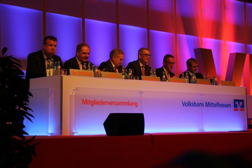 Volksbank Mittelhessen: Mitgliederversammlung 2016 Gießen, Bild 1