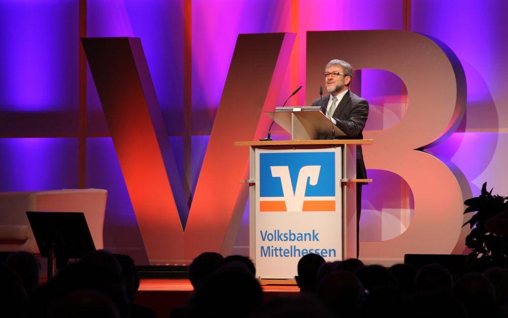 Volksbank Mittelhessen: Mitgliederversammlung 2016 Gießen, Bild 2