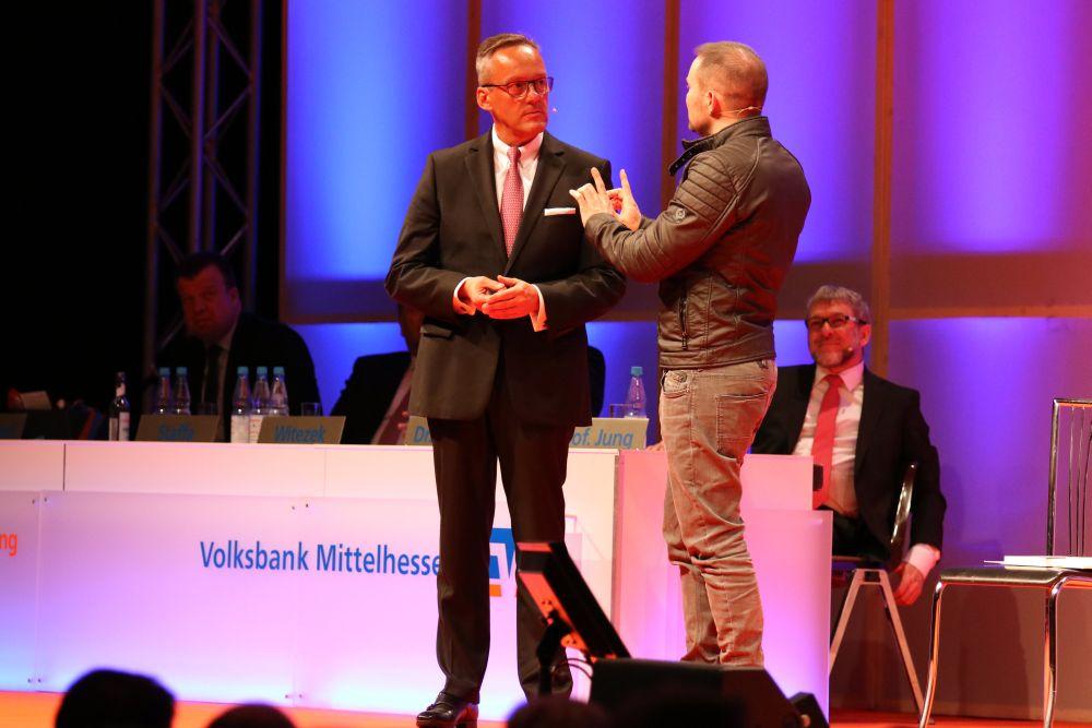 Volksbank Mittelhessen: Mitgliederversammlung 2018 in Marburg, Bild 37