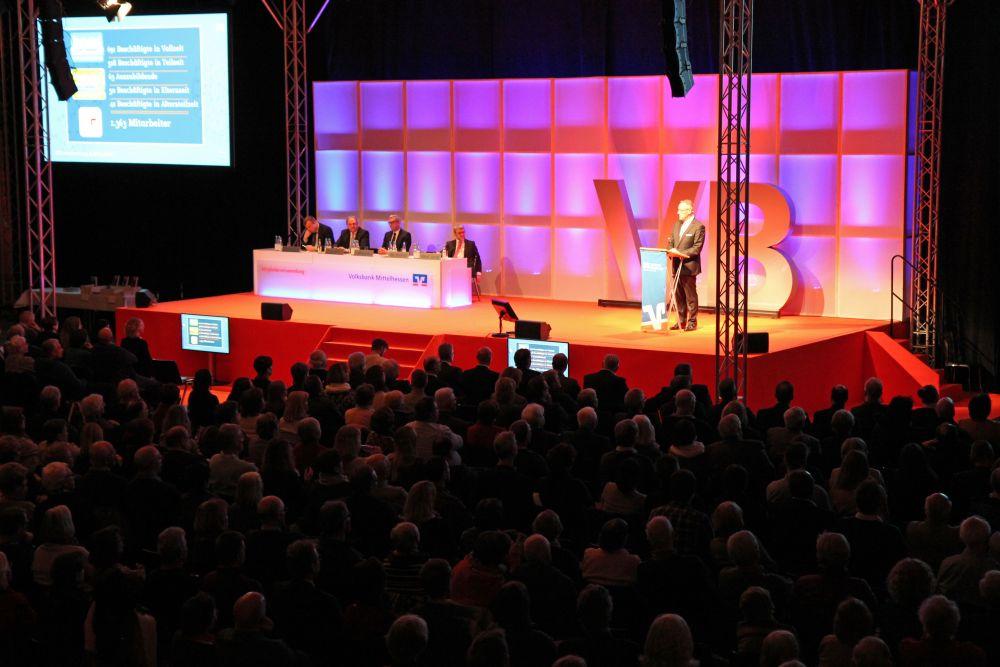 Volksbank Mittelhessen: Mitgliederversammlung 2018 in Marburg, Bild 6