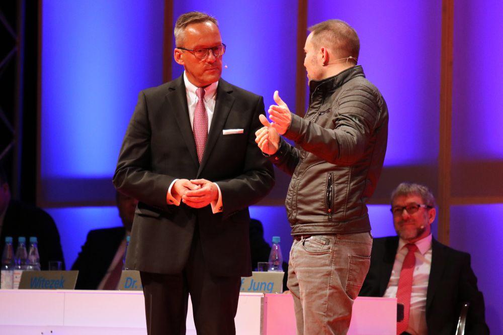 Volksbank Mittelhessen: Mitgliederversammlung 2018 in Marburg, Bild 38