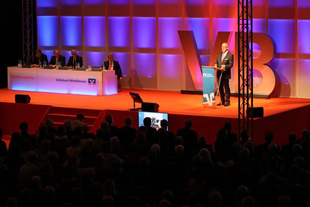 Volksbank Mittelhessen: Mitgliederversammlung 2018 in Marburg, Bild 12