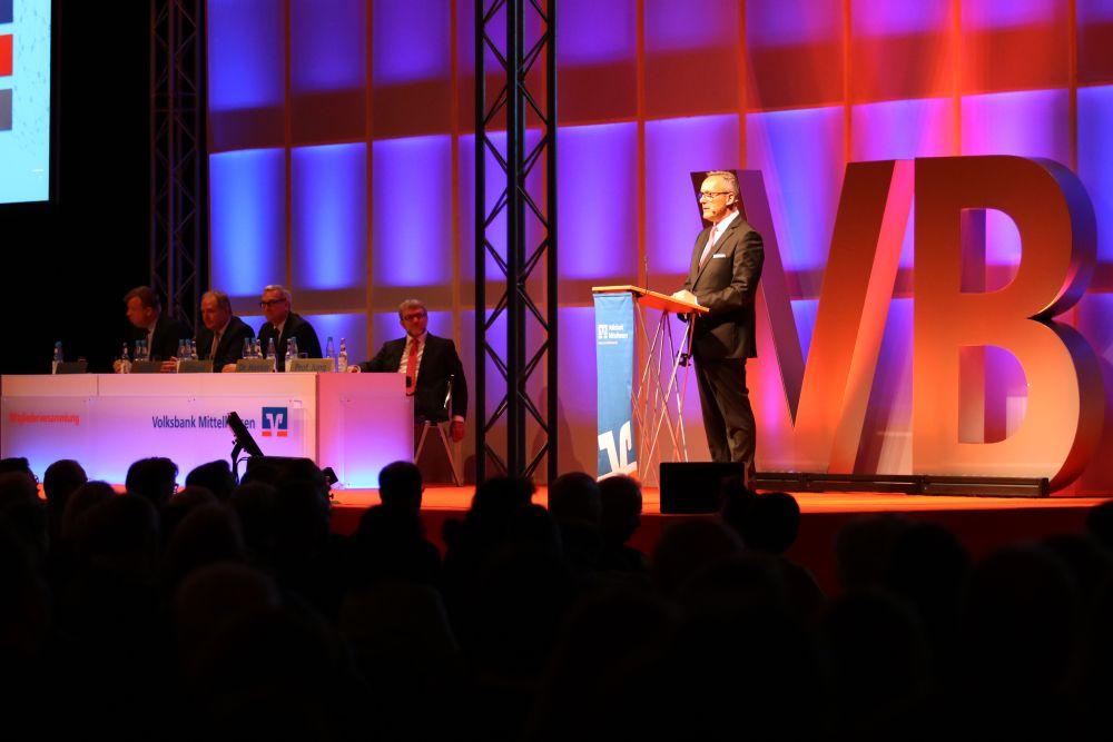 Volksbank Mittelhessen: Mitgliederversammlung 2018 in Marburg, Bild 11