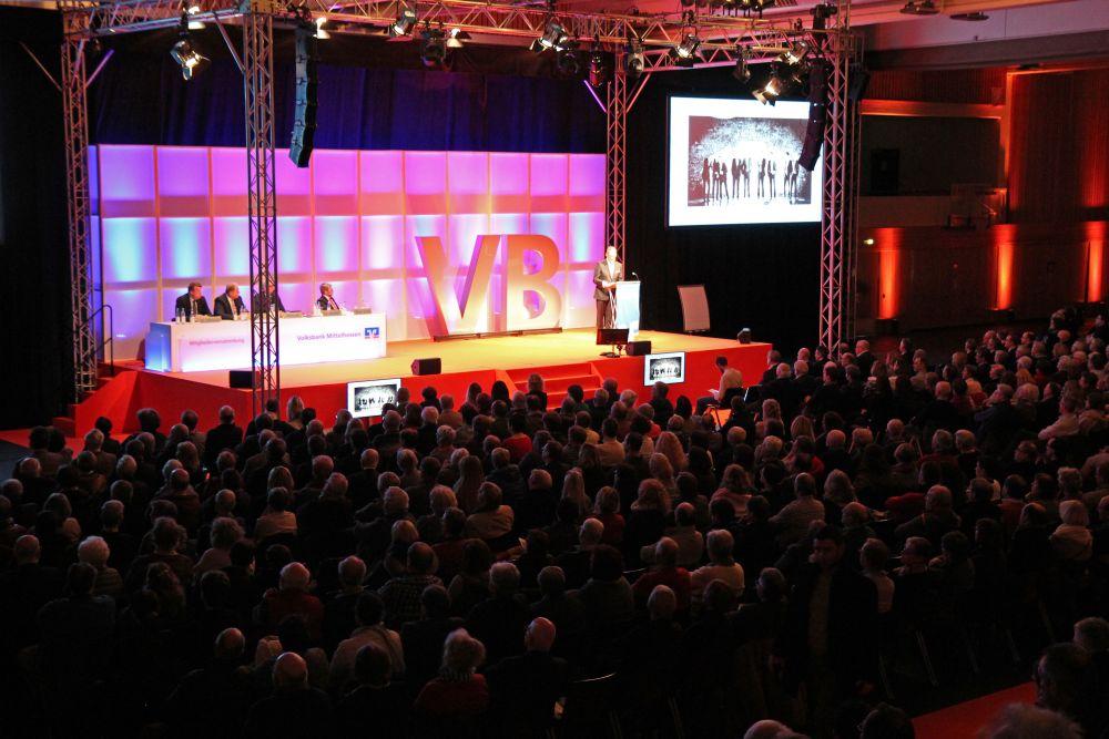 Volksbank Mittelhessen: Mitgliederversammlung 2018 in Marburg, Bild 9