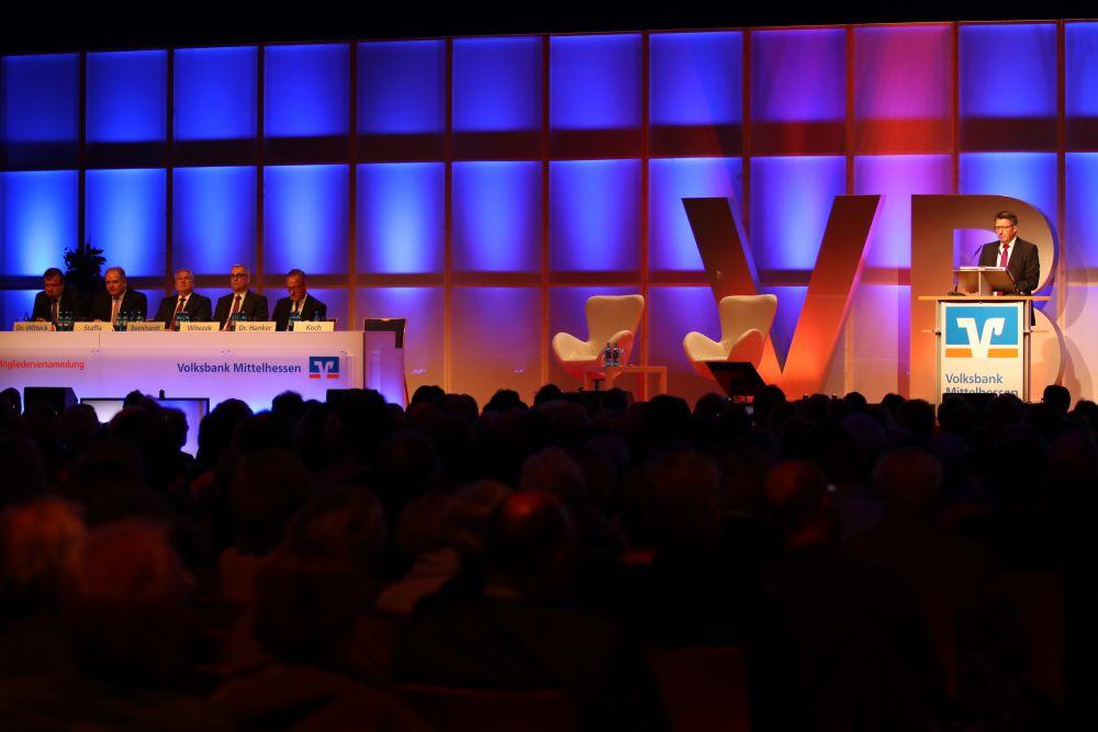 Volksbank Mittelhessen: Mitgliederversammlung 2018 in Wetzlar, Bild 6