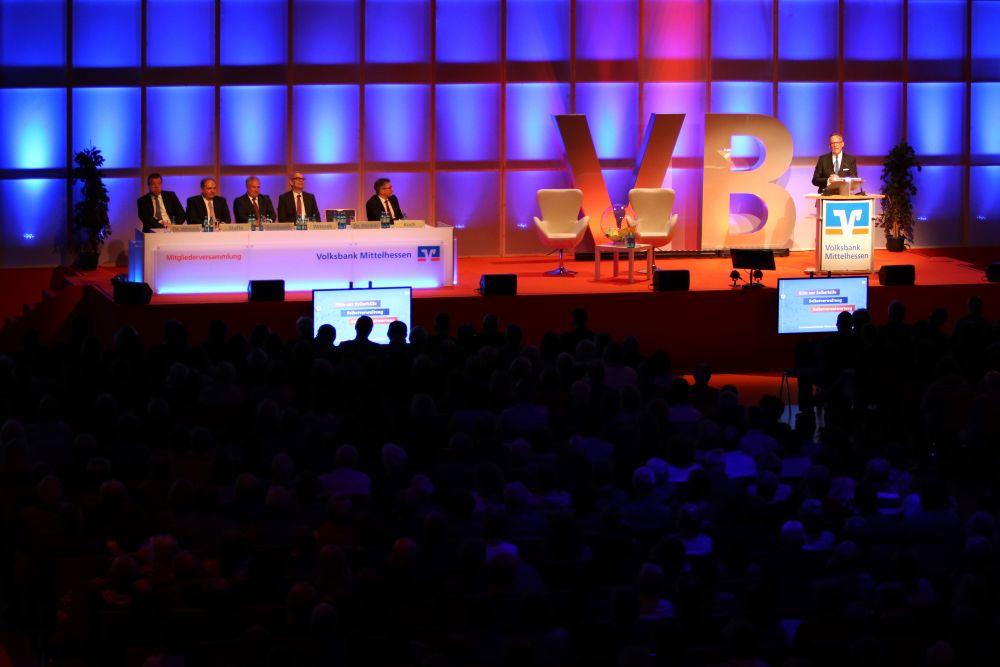 Volksbank Mittelhessen: Mitgliederversammlung 2018 in Wetzlar, Bild 13
