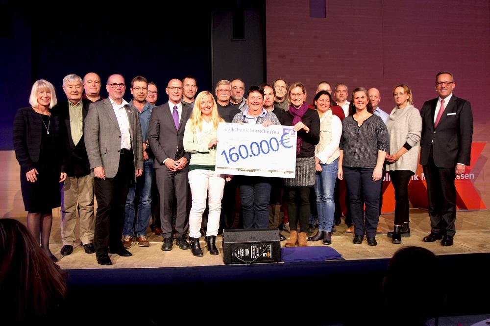 """Spendengala - Förderwettbewerb """"160 Jahre - und alle feiern mit!"""""""