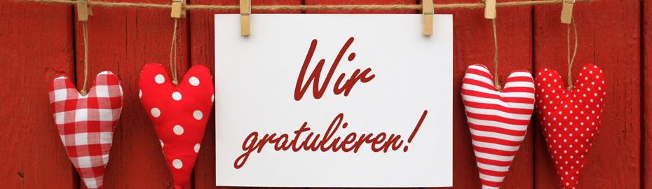 """Förderwettbewerb """"Unser Vereinsjubiläum 2017"""""""