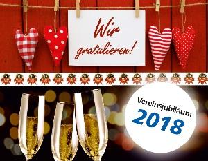 """Förderwettbewerb """"Unser Vereinsjubiläum 2018"""""""