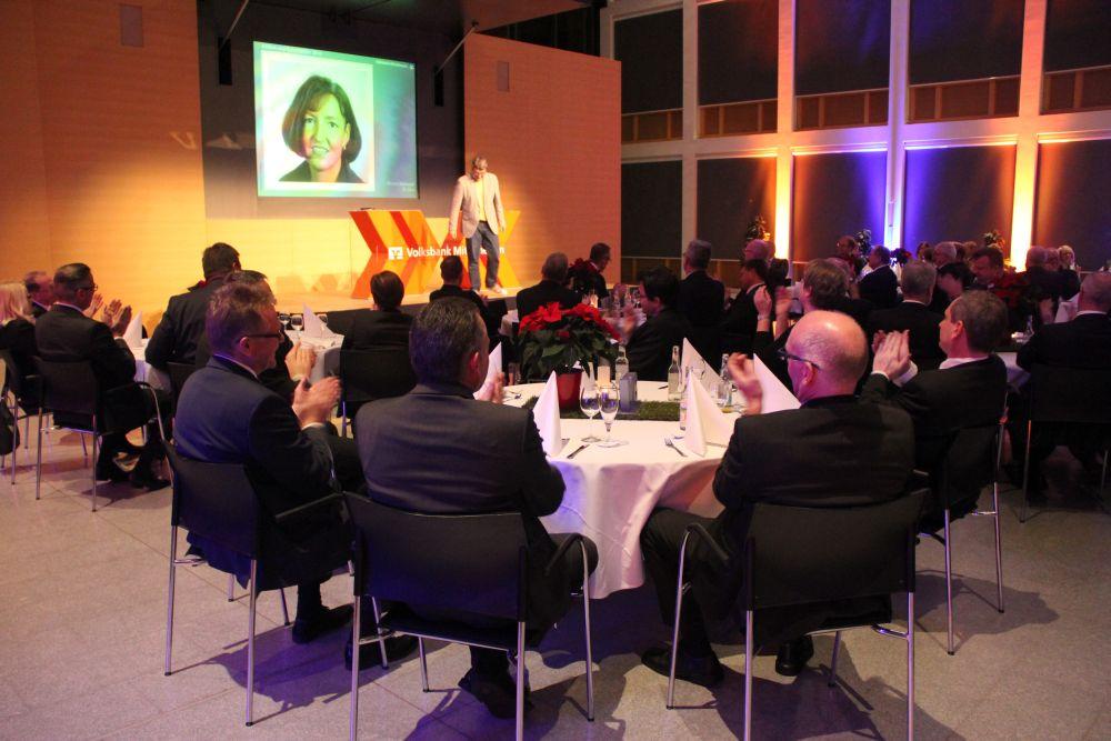 Vorstand der Volksbank Mittelhessen ehrt Jubilare 2016, Bild 40