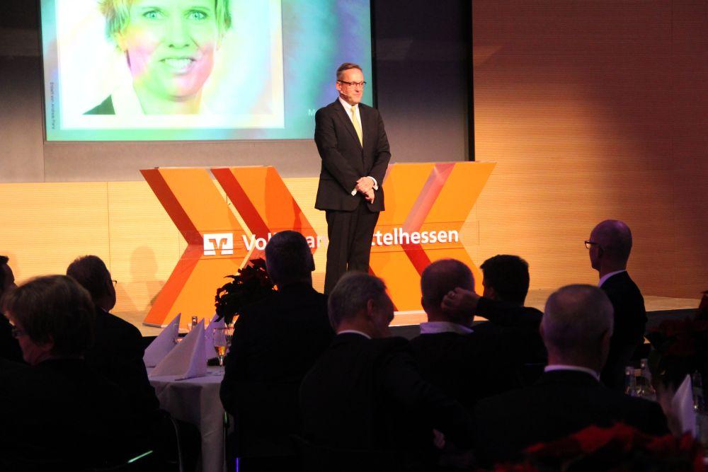 Vorstand der Volksbank Mittelhessen ehrt Jubilare 2016, Bild 41
