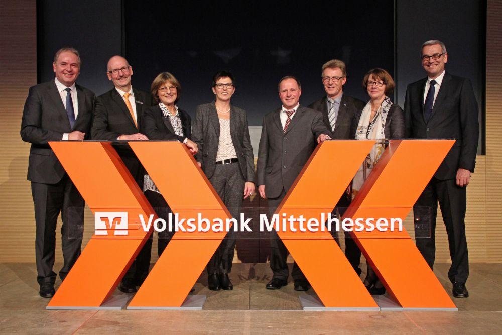Vorstand der Volksbank Mittelhessen ehrt Jubilare 2016, Bild 43