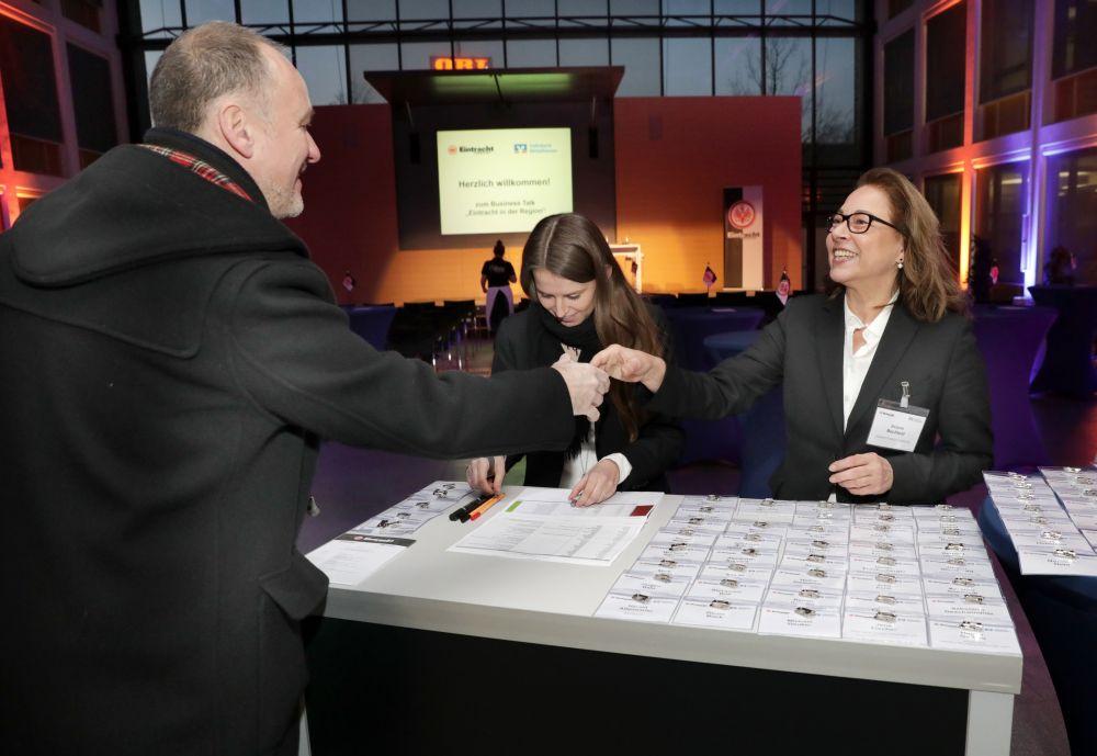 Eintracht Frankfurt zu Gast im Forum der Volksbank Mittelhessen, Bild 8