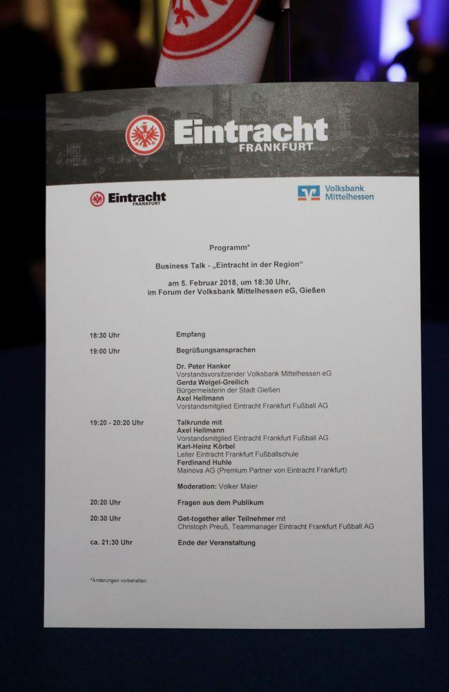 Eintracht Frankfurt zu Gast im Forum der Volksbank Mittelhessen, Bild 7
